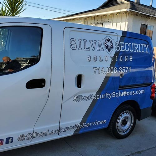 Silva Security Solutions van